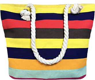 TOSKATOK LADIES WOMENS LARGE PRINT PATTERN SHOULDER CANVAS TOTE HOLIDAY BEACH BAG