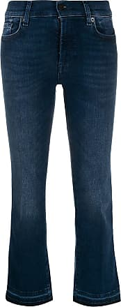 7 For All Mankind Calça jeans cropped Illusion Integrity - Azul