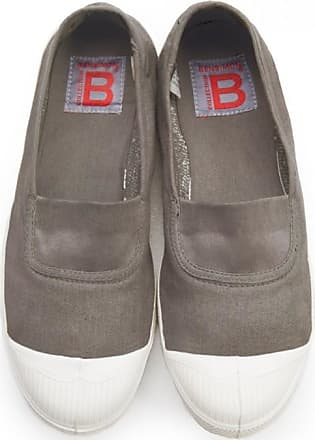 Bensimon ELASTICATED TENNIS SHOES EGG SHELL