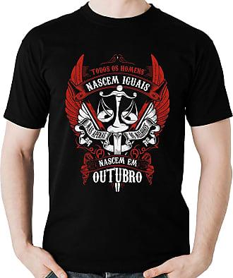 Dragon Store Camiseta Homens de Outubro os Melhores Signo Libra