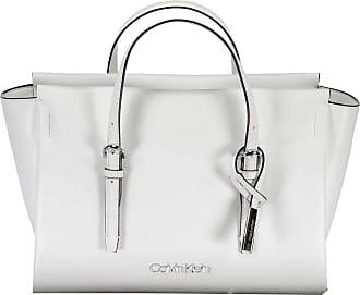 Calvin Klein Avant Small Tote Bright White