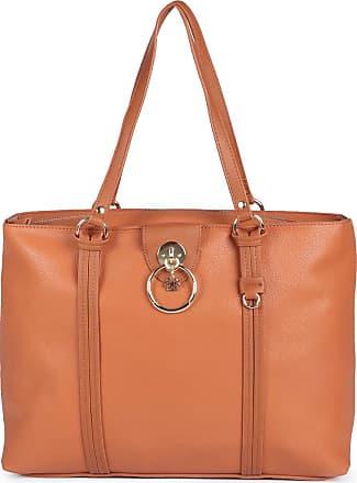 Ana Hickmann Bolsa Shopping Bag Feminina Ana Hickmann Recortes