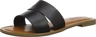 Office Womens Sacred Open Toe Sandals, Black (Black Leather 00078), 6 (39 EU)