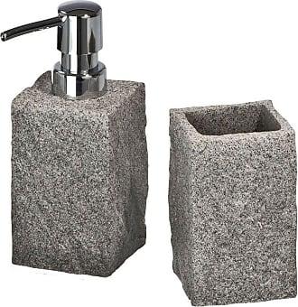 WENKO Set di accessori per il bagno Granit, WENKO