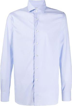 Xacus long sleeve tailored shirt - Blue