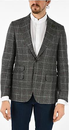 Corneliani CC COLLECTION blazer RETAILORED tartan in lana vergine e in taglia 50
