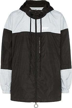 3af9e374e Off-white packable colour-block windbreaker jacket - Black