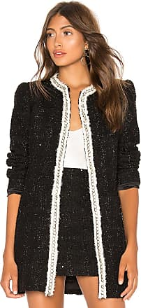 Alice & Olivia Andreas Midnight Jacket in Black