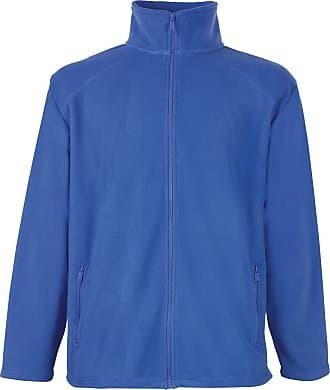 Fruit Of The Loom Womens/Ladies Lady-Fit Full Zip Fleece Jacket (2XL) (Royal)