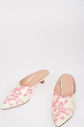 Drome Printed Lacquered Leather Mules 4 cm size 37