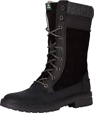 kamik Womens Rogue9 Snow Boots, Black (Black-Black Blk), 4 UK (37 EU)