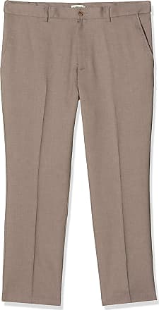 Farah Mens Roachman Trousers, Brown (Dark Taupe), XXXXX-Large (Manufacturer Size:46/33)