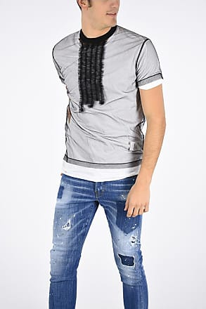 Dsquared2 Double T-shirt with Tullé size M