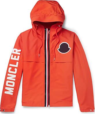 Moncler Montreal Logo-print Shell Jacket - Orange 4ca91dd2f84d9