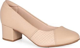 Modare Sapato Feminino Salto Conforto Modare Matelassê
