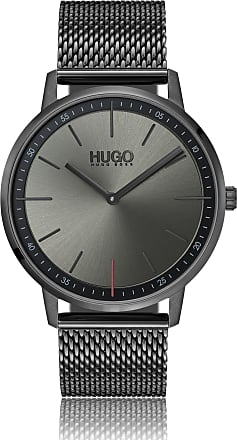 HUGO BOSS Hugo Boss Unisex watch in grey-plated stainless steel mesh bracelet One Size Assorted-Pre-Pack
