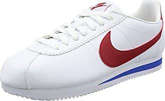 premium selection 789f3 78367 Nike Classic Cortez Leather, Scarpe da Corsa Unisex-Adulto, Bianco (White/