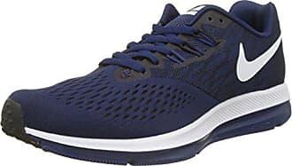big sale 8abf0 bf4ec Nike Zoom Winflo 4, Scarpe da Ginnastica Uomo, Multicolore (Binary  WhiteBlack