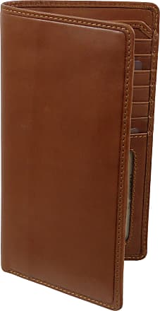 Visconti Mens ITALIAN Leather Slimline Suit Wallet by VISCONTI Gift Boxed VICENZA COLLECTION, Dimensions: Approx 17cm x 9.5cm ( 6.75inches x 3.75inches ), Tan