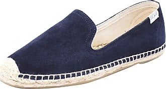 ICEGREY Womens Causal Loafer Flat Slip On Espadrille Navy Blue Suede UK 3.5