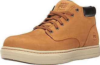 Timberland Mens Disruptor Chukka Alloy Safety Toe EH Industrial & Construction Shoe, Wheat Nubuck, 8.5 W US