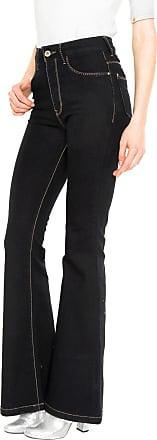 d208523842 Lunender Calça Jeans Lunender Flare Lisa Azul-marinho