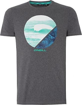 O'Neill Framed Hybrid Tee T-Shirt für Herren   schwarz/grau