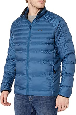 Oakley Mens Thermofill Ellipse Bomber Jacket, Poseidon, Large