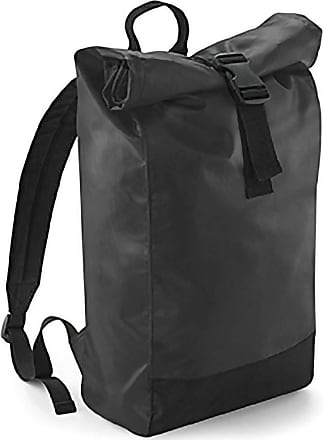 BagBase Bagbase Tarp Waterproof Roll-Top Backpack (One Size) (Black)