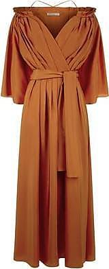 Three Graces London Tessa Dress in Copper