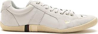 Osklen leather Riva sneakers - NEUTRALS