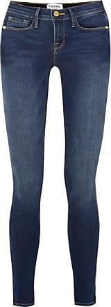Frame Denim Le Skinny De Jeanne Mid-rise Jeans - Mid denim