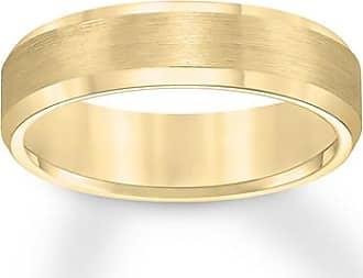 Kay Jewelers Triton Brushed Wedding Band Yellow Tungsten Carbide 6mm