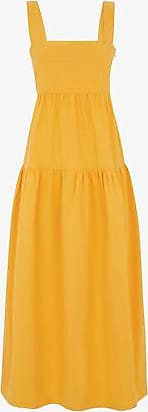 Three Graces London Cosette Dress in Mango