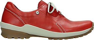 Wolky Comfort Lace up Shoes Yellowstone - 20500 red Leather - 39