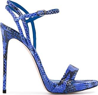 Le Silla Sandália com textura Gwen - Azul