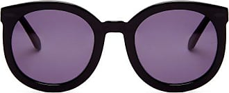 Karen Walker Eyewear Super Duper Strength Acetate Sunglasses - Womens - Black