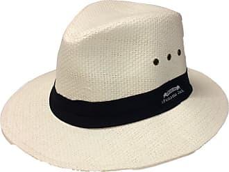 Panama Jack Mens Matte Toyo Safari Hat - White - L