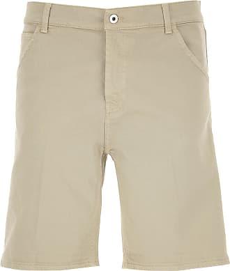 Dondup Shorts for Men On Sale, Beige, Cotton, 2019, 31 32 33 34 35