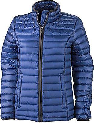 8394d6af881a06 James & Nicholson Damen Jacke Jacke Ladies Quilted Jacket blau (Ink/Black) X