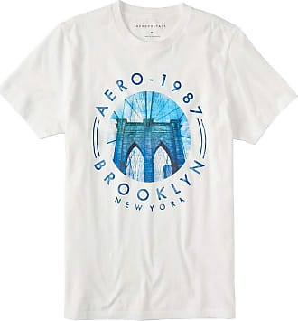 Aéropostale Camiseta Aeropostale Tamanho:G;Cor:Branco