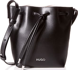 HUGO BOSS Downtown Sm Drawstr, Womens Cross-Body Bag, Black, 9.5x20x15 cm (B x H T)
