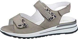 Waldläufer Womens Kalisha Denver Leofiore Eclis Nubuck Sandals 667002 302 582 5.5 UK Cream/Beige
