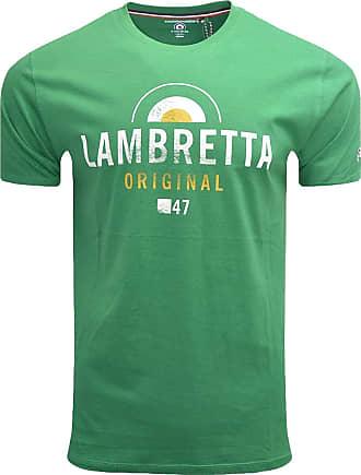 Lambretta Mens Original Cotton Short Sleeve T-Shirt - Green - 3XL