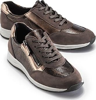 Walbusch Damen Reißverschluss-Sneaker Glitzermix 36 37 38 39 40 41 42