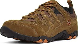 Hi-Tec Mens Taupe Lace Up Walking Shoe - Size 11 UK - Brown