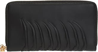 Alexander McQueen Embossed Wallet Mens Black