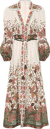 Zimmermann Empire printed linen maxi dress