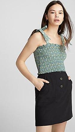 Twik Country linen miniskirt