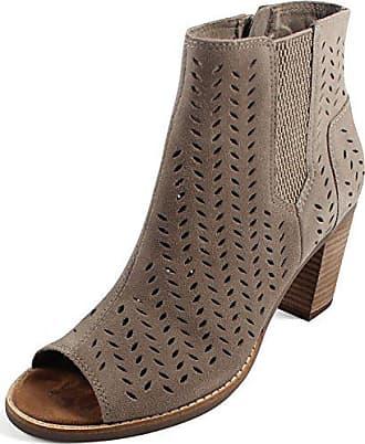 fc2aebc2731c55 Toms Frauen Majorca Peep Toe Fashion Stiefel Braun Groesse 9.5 US  41 EU